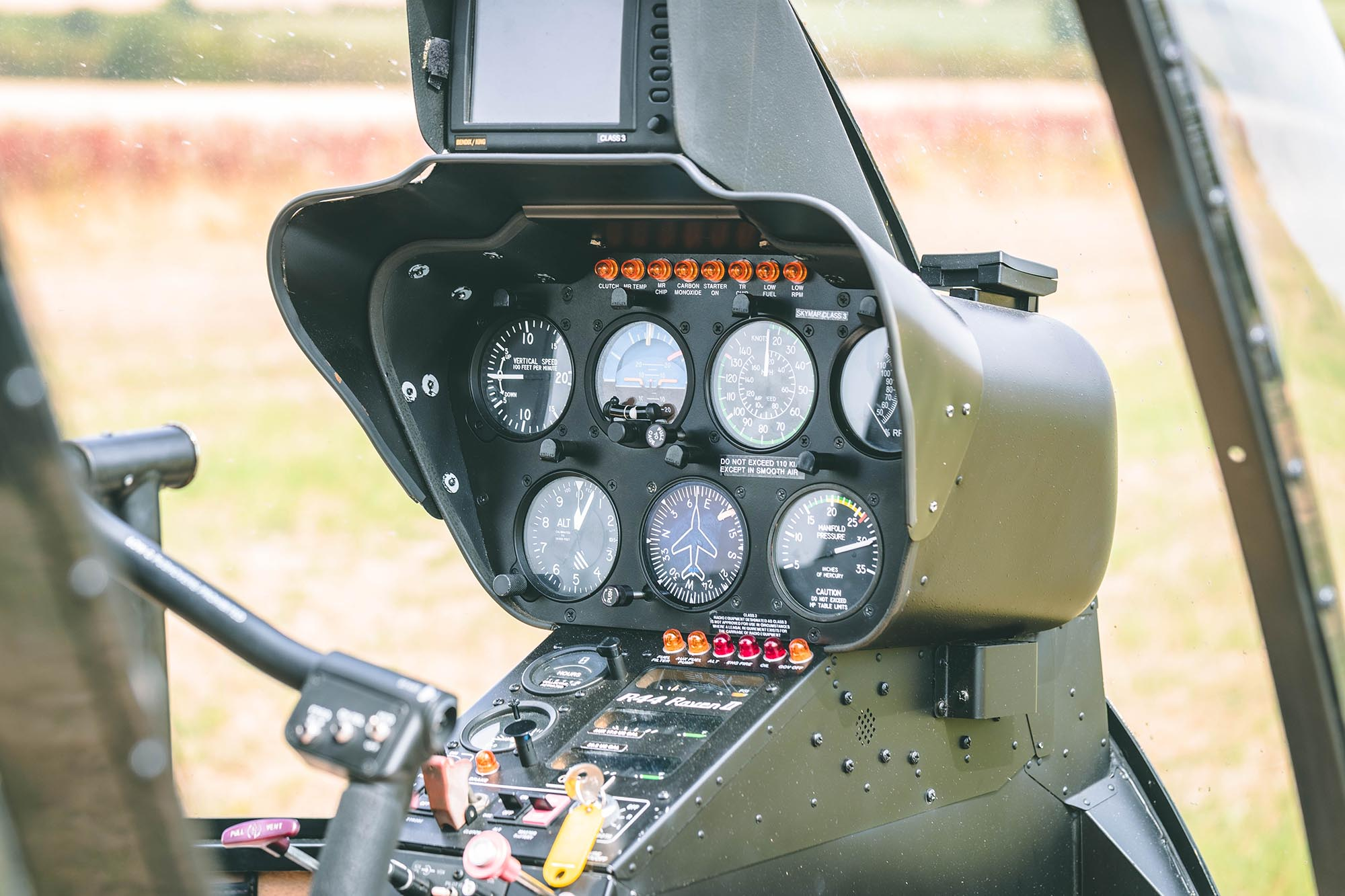 Hummingbird helicopters r44 interior