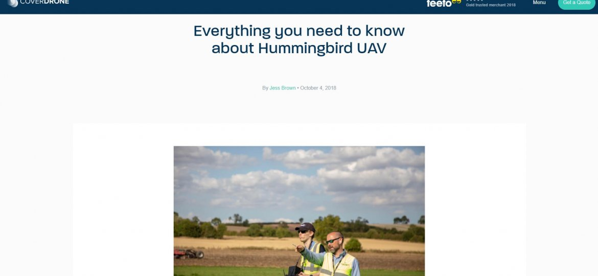 everything you need to know about hummingbird uav