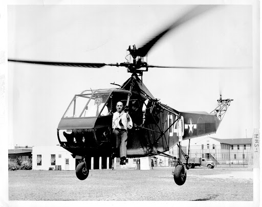 Sikorsky R-4, 1944 Helicopter