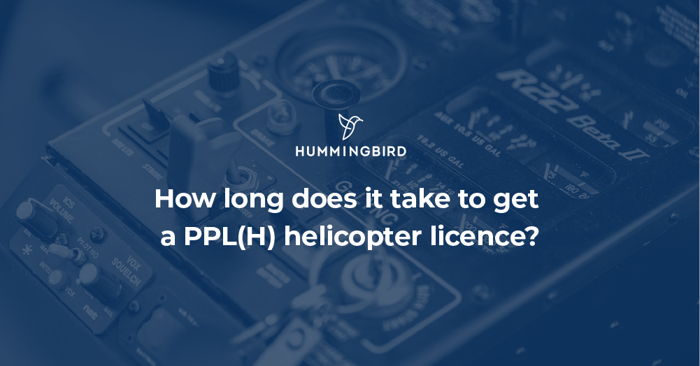 How long does it take to get a pplh licence