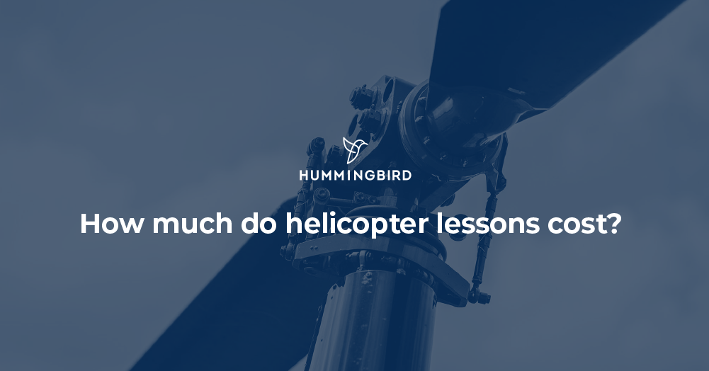 How much doe helicopter lessons cost?