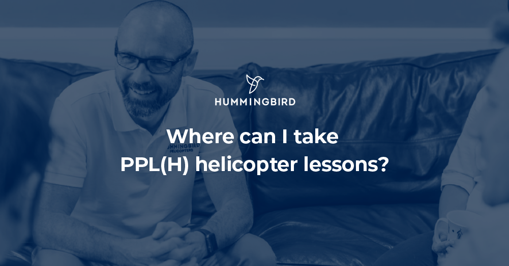 Where can I take PPL(H) helicopter lessons?
