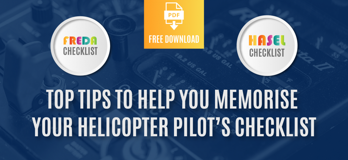 Top tips to help you memorise your helicopter pilots checklist@2x